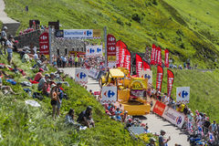 Караван Mc Каина - Тур-де-Франс 2016 Стоковые Фотографии RF