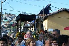 КАРАКАС, ВЕНЕСУЭЛА - 10-ое апреля 2009 - страстная пятница, пасха Celebtations Стоковые Фотографии RF