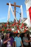 КАРАКАС, ВЕНЕСУЭЛА - 10-ое апреля 2009 - страстная пятница, пасха Celebtations стоковые изображения rf