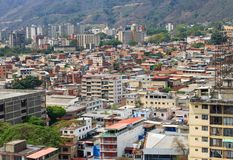 Каракас, столица Венесуэлы стоковые изображения rf