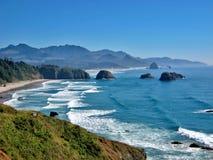 карамболь Орегон пляжа Стоковые Изображения RF