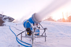 Карамболь снежка Стоковая Фотография