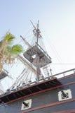 Карамболи и рангоут военного корабля Стоковые Фотографии RF