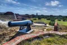 Карамболь в форте Jefferson, Флориде стоковая фотография rf