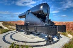 Карамболь в форте Jefferson, Флориде стоковое изображение