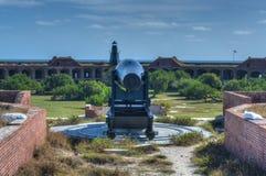 Карамболь в форте Jefferson, Флориде стоковые фотографии rf
