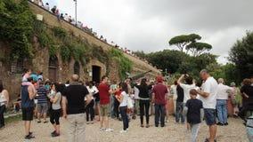 Карамболь холма Janiculum в Риме Стоковое Изображение