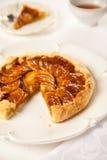 карамелька торта яблока Стоковые Изображения RF