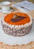 карамелька торта Стоковые Фотографии RF