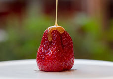 Карамелька et fraise Стоковое Фото