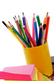 Карандаши и ручки Стоковое Фото