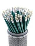 карандаши корзины Стоковая Фотография