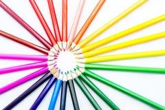 карандаши круга Стоковое фото RF