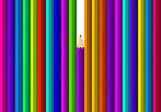 карандаши предпосылки красивейшие пестротканые Стоковое фото RF