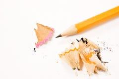 карандаши точат стоковое изображение