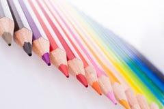 карандаши цвета стоковое изображение