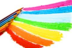 карандаши цвета Стоковая Фотография