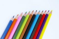 карандаши цвета ii Стоковое Изображение RF