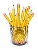 карандаши чашки Стоковое Фото