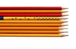 карандаши Стоковая Фотография