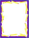 карандаш граници бесплатная иллюстрация