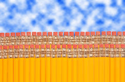 карандаш истирателей Стоковые Изображения