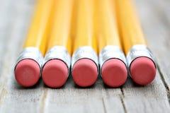 карандаш истирателей Стоковое Изображение