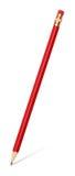 карандаш истирателя изолированный графитом Стоковые Фото