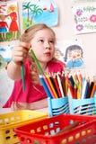 карандаш картины типа ребенка искусства Стоковые Изображения RF