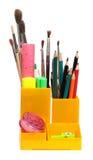 карандаш коробки стоковые изображения rf