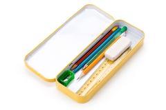 карандаш металла случая Стоковая Фотография RF