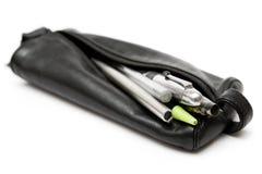 карандаш мешка кожаный Стоковое Фото