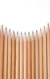 карандаш наклоняет стену стоковое изображение rf