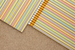карандаш предпосылки Стоковое Изображение RF