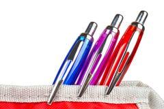 карандаш случая пишет 3 Стоковые Фотографии RF