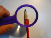 карандаш увеличиванный концом Стоковое Изображение RF