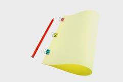 карандаш цвета бумажный Стоковое Фото