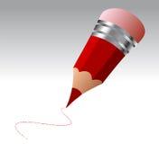 карандаш шаржа Стоковое Изображение