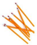 2 карандаша номера Стоковое Изображение