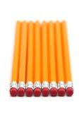 2 карандаша номера Стоковое Фото