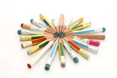карандаши замыкают накоротко Стоковые Изображения RF