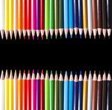 карандаши покрашенные чернотой Стоковые Изображения RF