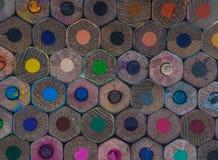 Карандаши расцветки стоковые фото