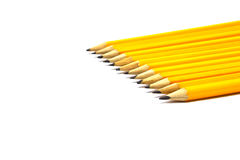 карандаши свежих идей предпосылки изолированные белые Стоковые Изображения