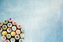 Карандаши цвета Стоковое Изображение RF