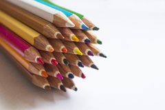 Карандаши цвета Стоковое Фото