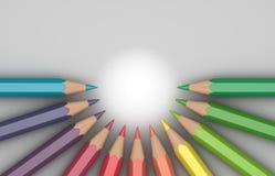 карандаши Стоковое фото RF