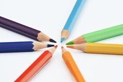 карандаши Стоковое Фото
