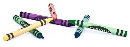 Карандаши Crayon Стоковая Фотография RF