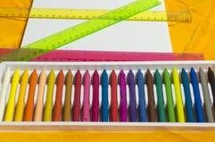 Карандаши Crayon Стоковое фото RF